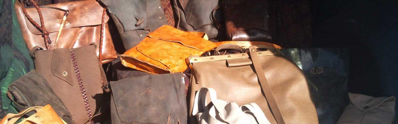 El yapımı çantalar