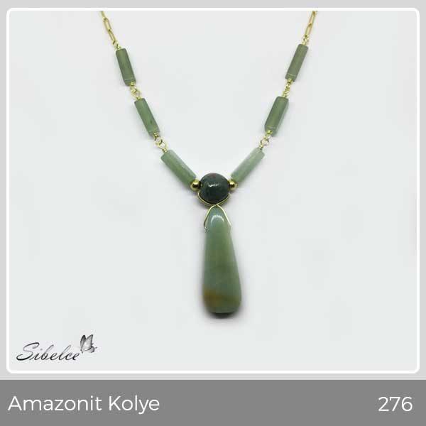 Amazonit Kolye