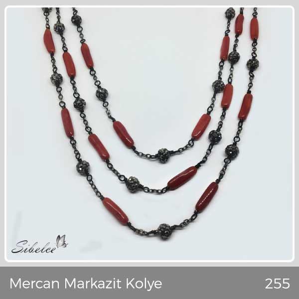 Mercan Markazit Kolye